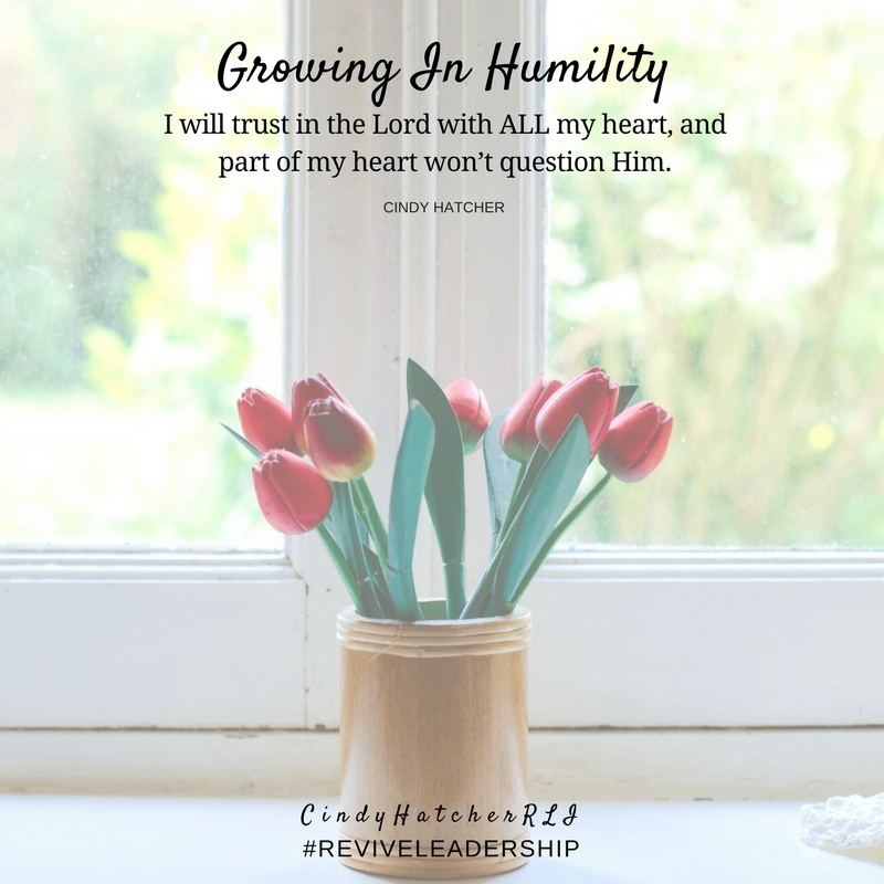 growing in humility part 2